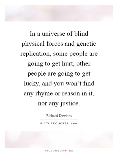 in-a-universe-of-blind-physical-forces-and-genetic-replication-some-people-are-going-to-get-hurt-quote-1